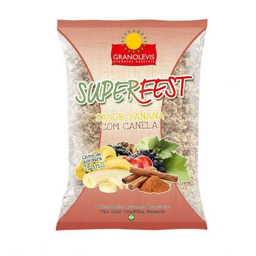Granola Superfest - Banana e Canela
