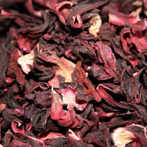 Hibisco Seco a Granel para Chá - 500g