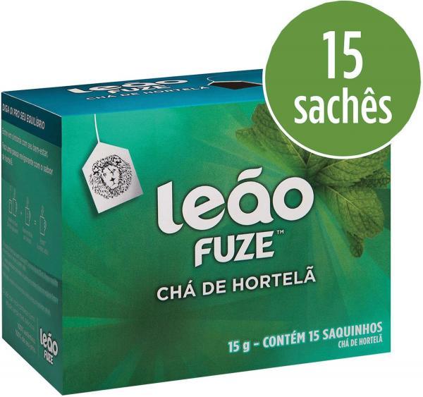 Cha Hortela 15G 15 Sachas Leao