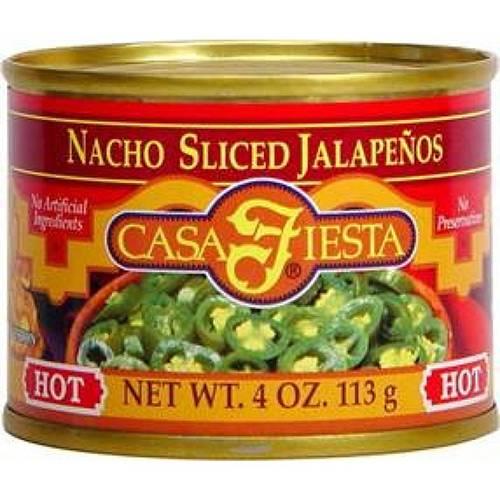 Jalapeños Fatiados - Casa Fiesta