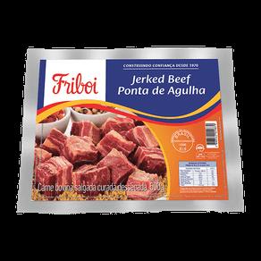 Jerked Beef Friboi Ponta de Agulha 500g