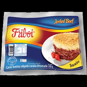 Jerked Beff Friboi Traseiro 500g