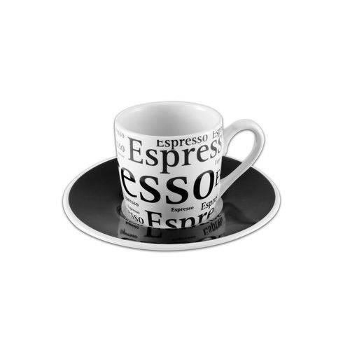 Jogo de Xícaras para Café em Porcelana Hauskraft JGXC-008