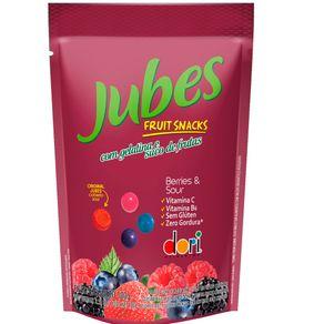 Jubes Fruit Snack Berry Sour Dori 100g