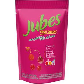 Jubes Fruit Snack Cereja Dori 100g