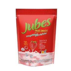 Jubes Fruit Snack Iogurte com Morango Dori 100g