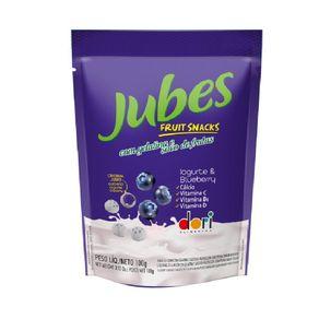 Jubes Fruit Snack Iogurte e BlueBerry Dori 100g