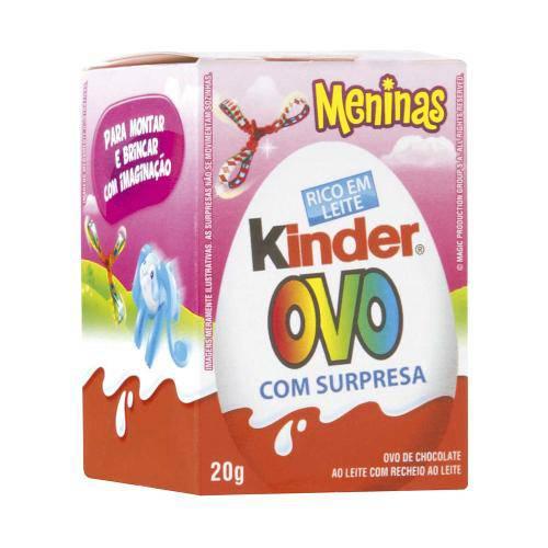 Kinder Ovo Menina - Ferrero