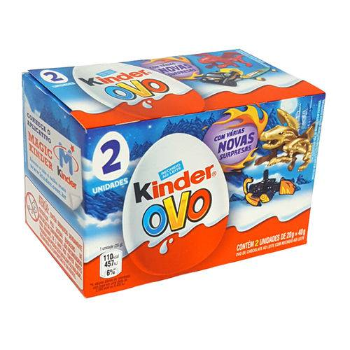 Kinder Ovo Menino C/2 - Ferrero