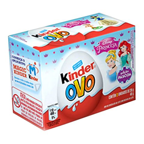 Kinder Ovo My Princesas C/2 - Ferrero