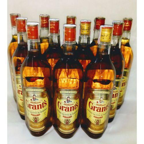 Kit 12 Grant's Family Reserve Melhor Scotch Whisky