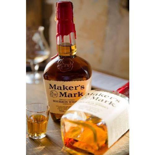 Kit 3 Whisky Bourbon Premium Makers Mark 750ml Americano
