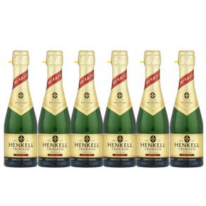 Kit de Espumantes Henkell com 6 Garrafas de 200ml