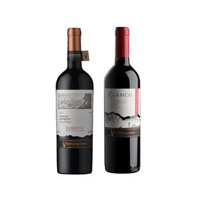 Kit de Vinhos Chilenos Ventisquero Cabernet Sauvignon 750ml