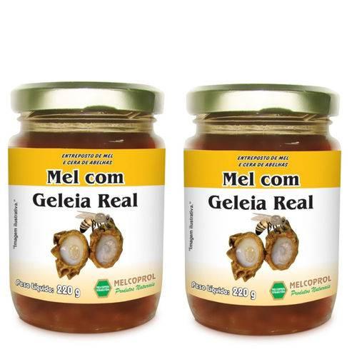 Kit 2 Mel com Geleia Real 440g Melcoprol