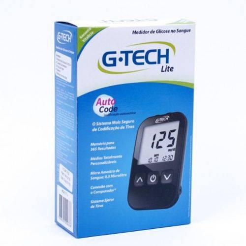 Kit Monitor de Glicose Completo G-tech Free Lite