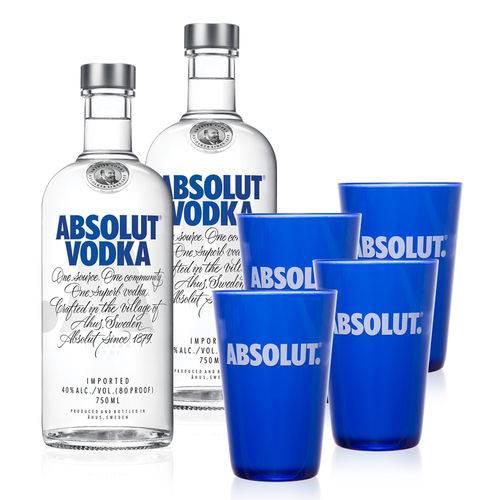 Kit Vodka Absolut Party I