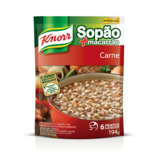 Knorr Sopa de Carne C/ Macarrão 194g