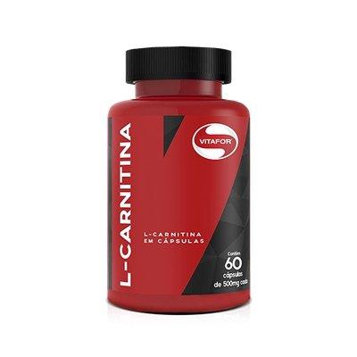 L-Carnitina (120 Cápsulas) - Vitafor