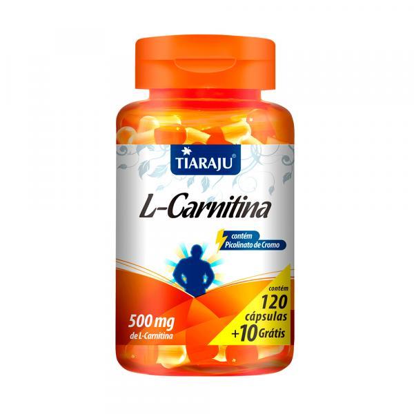 L-Carnitina - Tiaraju - 120+10 Cápsulas de 500mg