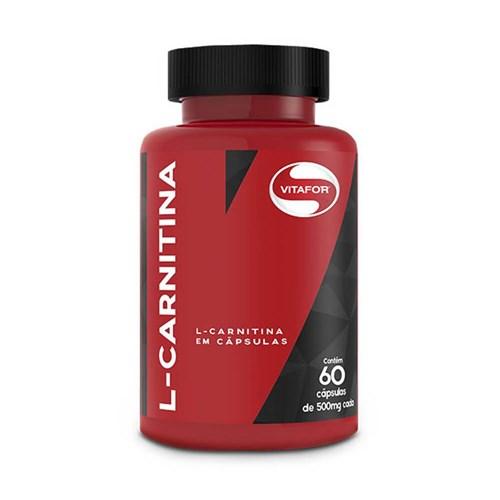 L Carnitina Vitafor 60 Cápsulas