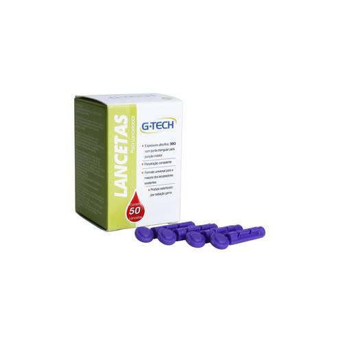 Lancetas para Lancetador Premium Lan3050g com 50 Unidades