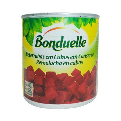Lata Beterraba em Cubos 400g - Bonduelle