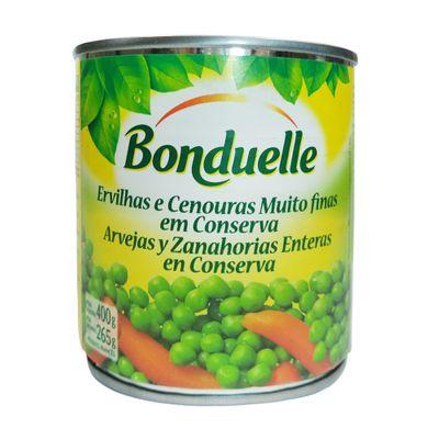 Lata Ervilha e Cenoura Muito Fina 400g - Bonduelle