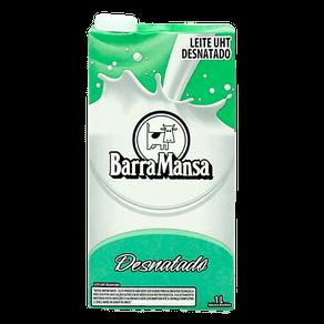 Leite Barra Mansa UHT Desnatado 1l
