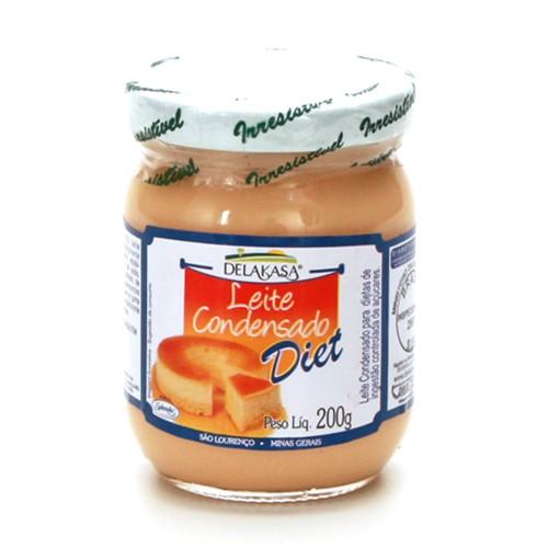 Leite Condensado Diet Delakasa com 200g