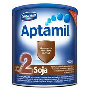 Leite em Pó Aptamil 2 Soja - 400G
