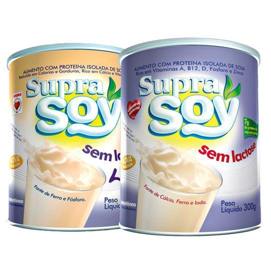 Leite Supra Soy Sem Lactose 300g