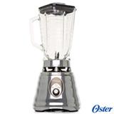 Liquidificador Oster Clássico Prata com 03 Velocidades e Jarra com 1,25 Litros - 004655