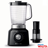 Liquidificador Philips Walita Pro Blend 6 Duravita com 05 Velocidades e Jarra com 1,5 Litros, Preto e Cinza - RI2135