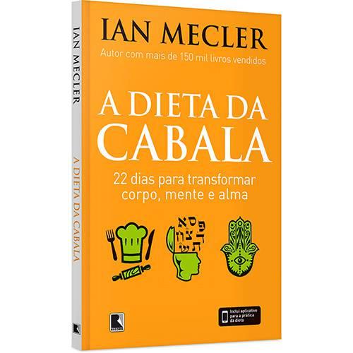Livro - a Dieta da Cabala: 22 Dias para Transformar Corpo, Mente e Alma