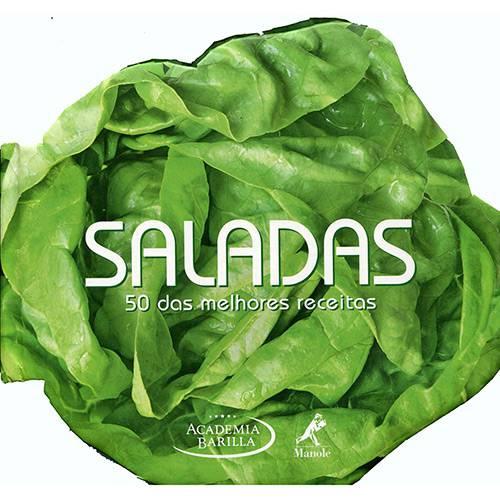 Livro - Saladas 50 das Melhores Receitas