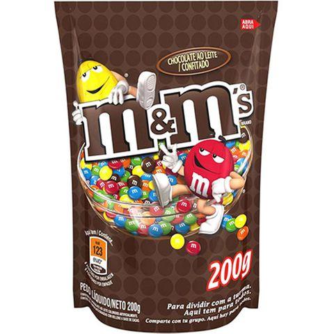 M&M Confeito de Chocolate 200g - Mars
