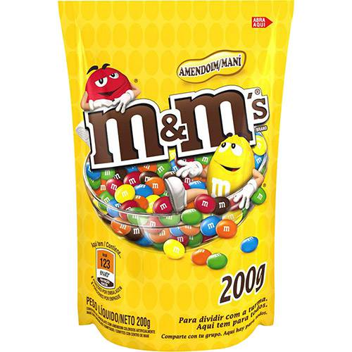M&M´s® Amendoim 200g - Mars