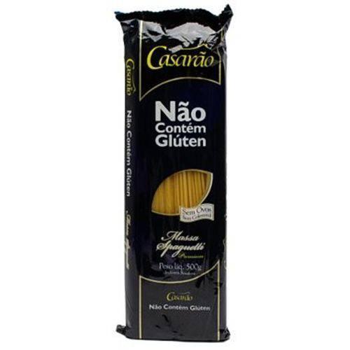 Macarrão de Arroz Spaghetti - Casarão - Sem Glúten e Sem Ovo - 500g