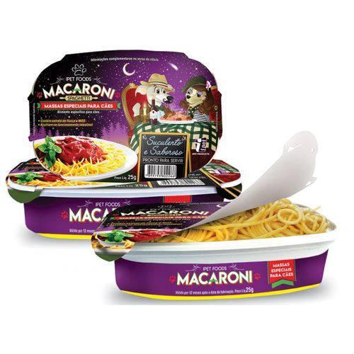 Macarrão Especial para Cães Macaroni 25g Sabor Carne