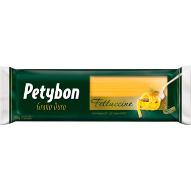 Macarrão Grano Duro Fetuccine Petybon 500g