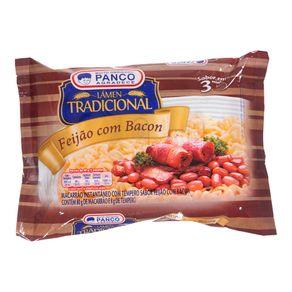 Macarrão Instantâneo Feijão com Bacon Panco 88g