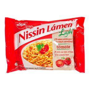 Macarrão Instantâneo Light Sabor Tomate Nissin Lámen 74g