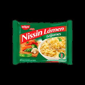 Macarrão Instantâneo Nissin Lámen Legumes 85g