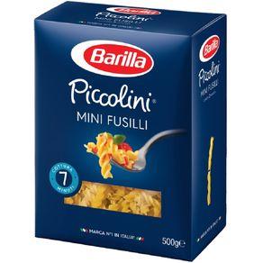 Macarrão Mini Fusili Barilla 500g