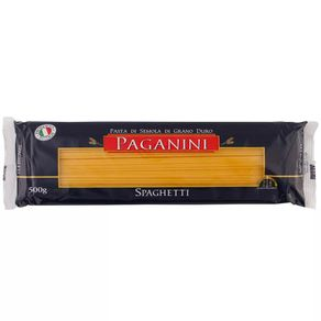 Macarrão Spaghetti Paganini 500g