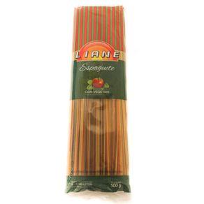 Macarrão Tipo Espaguete com Vegetais Liane 500g