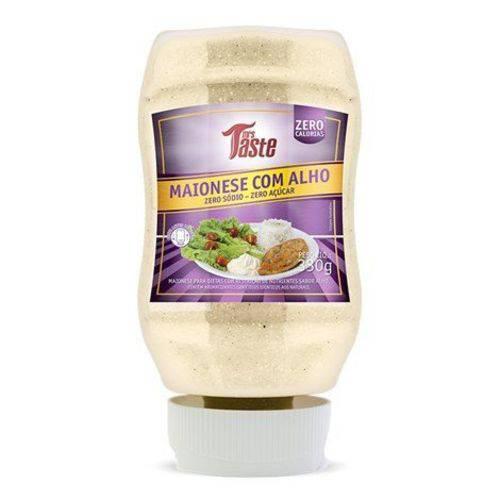 Maionese C/ Alho Zero Sódio/acucar 335g Mrs Taste