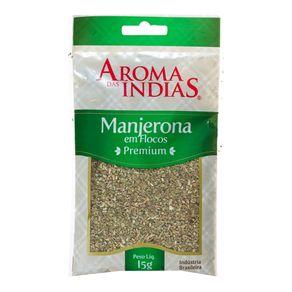 Manjerona em Flocos Aromas da Índias 15g