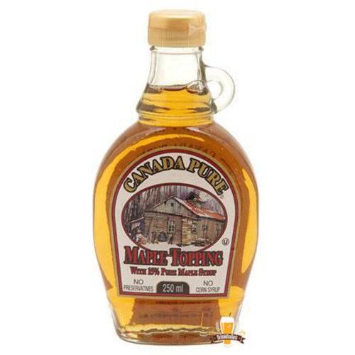 Maple Syrup Canada Pure 15% - Xarope de Bordo 250ml